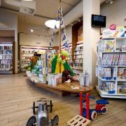 unser Bücherschiff für kleine Kunden in Radolfzell