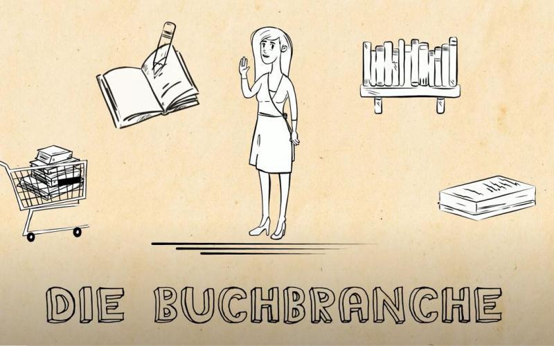 Die Grundlagen der Buchbranche (Video)